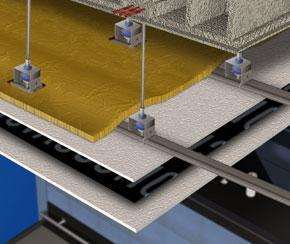 Ilustración de como insonorizar un techo