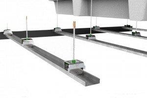 Ejemplo estructura para techos suspendidos