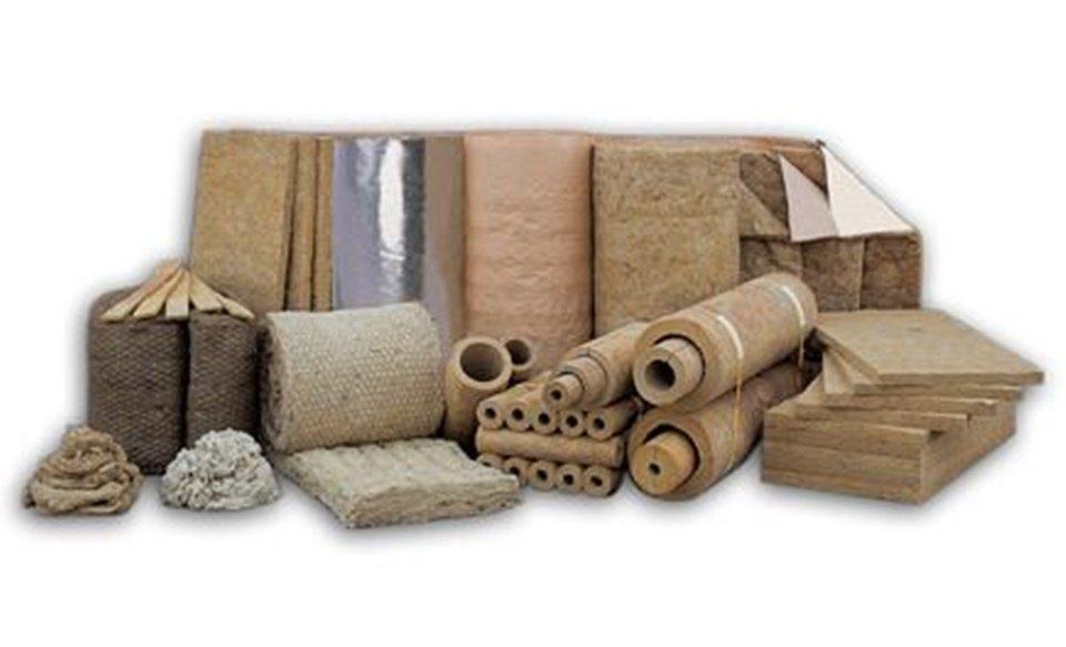 Ejemplo de lanas minerales aislantes